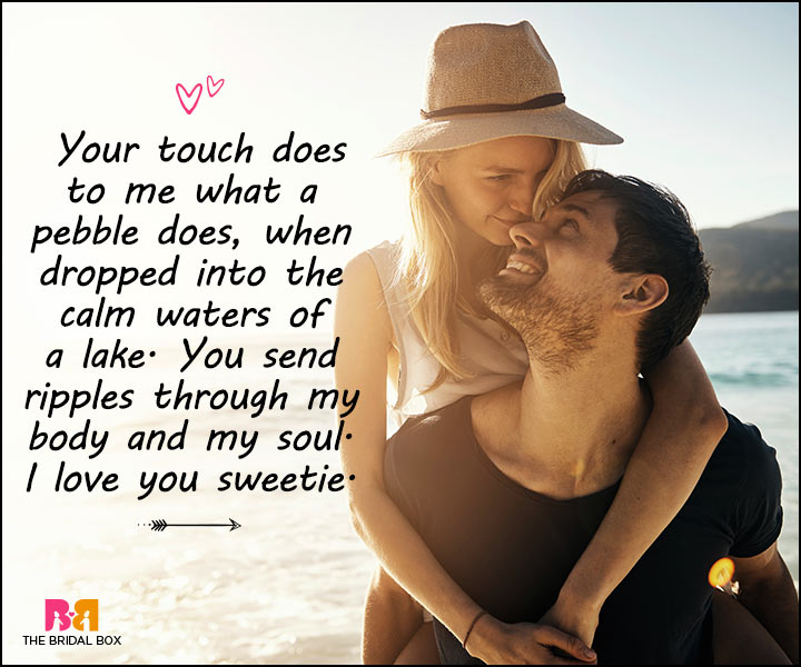 Love Messages For Her - Your Touch