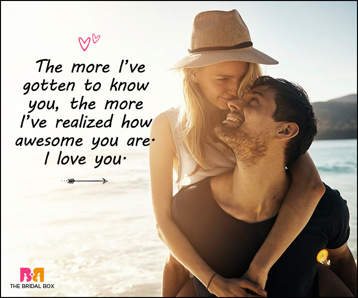 Love Messages For Her - You're Awesome