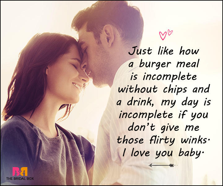 Love Messages For Her - Happy Meal