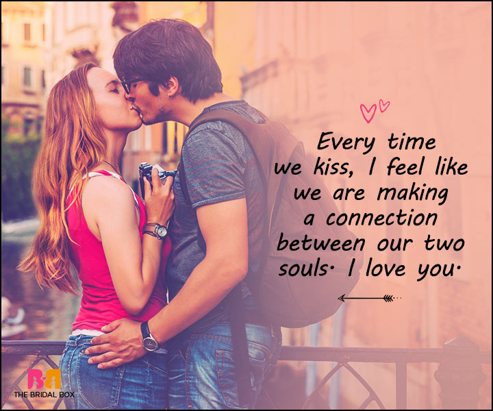 Love Messages For Her - Every Time We Kiss