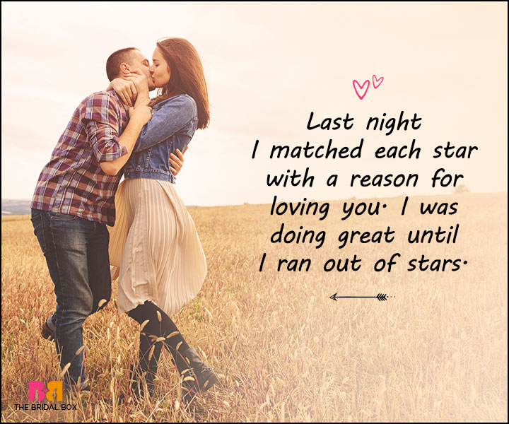 Love Messages For Her - I Ran Out Of Stars