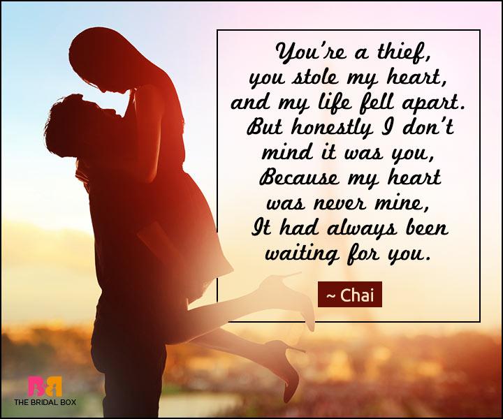 short love verses for her