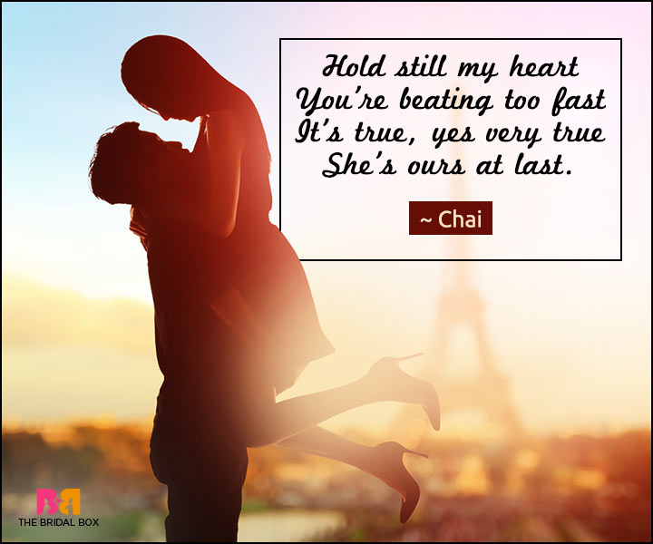 Love Poems For Wife - Hold Still My Heart