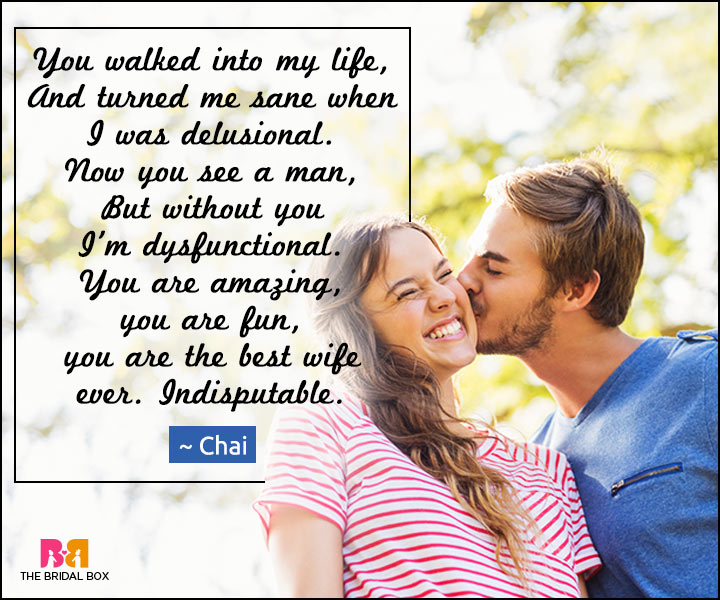 Love Poems For Wife - Indisputable