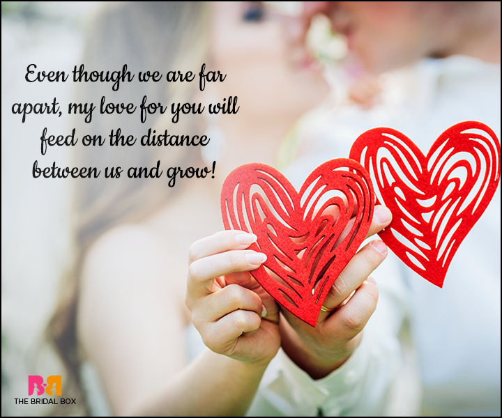Love SMS For Girlfriend - My Love Will Feed