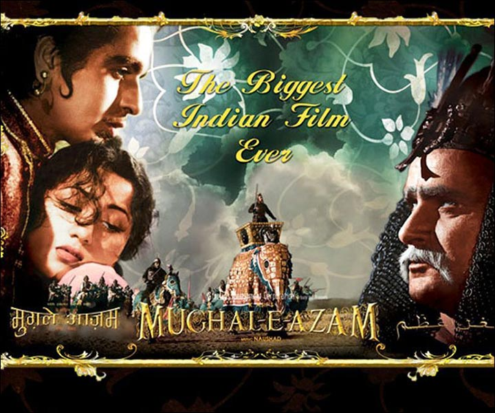 Bollywood Love Story Movies - Mughal-E-Azam