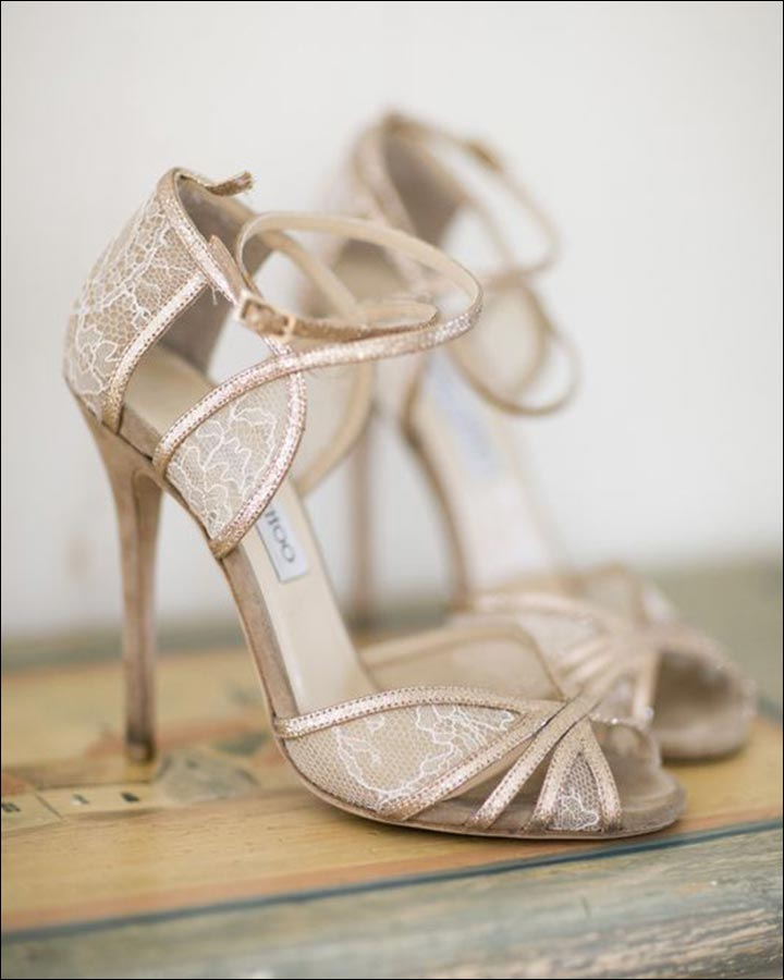 S Inspired Wedding Shoes