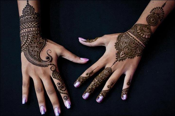 Unique Mehndi Designs - Ornamental Beauty