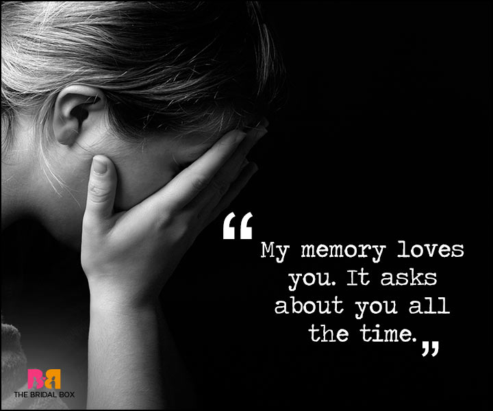 Painful Love Quotes - All The Time