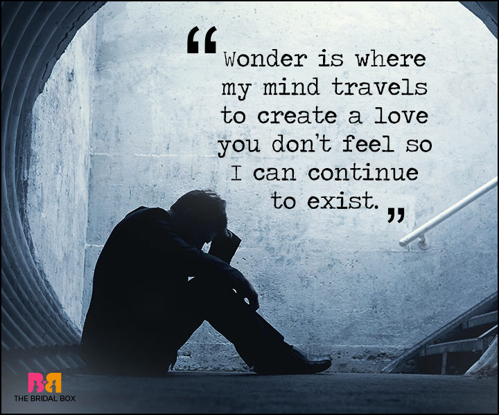 Painful Love Quotes - Wonder