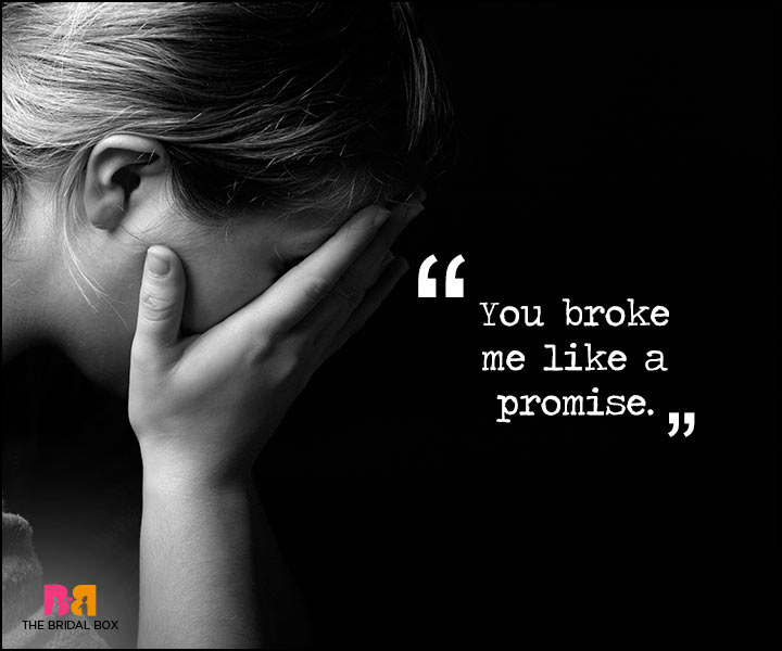 Painful Love Quotes - A Promise