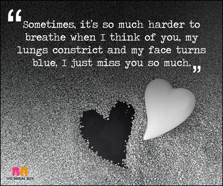 Painful Love Quotes - Blue