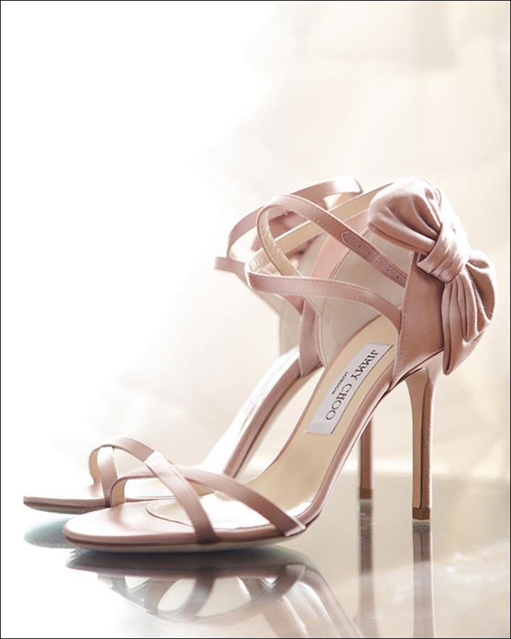 Jimmy Choo Wedding Shoes - Pretty In Pink