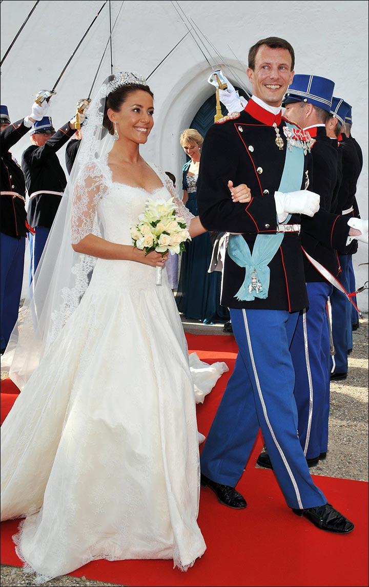 Royal Wedding Dresses - Prince Joachim And Princess Marie Of Denmark