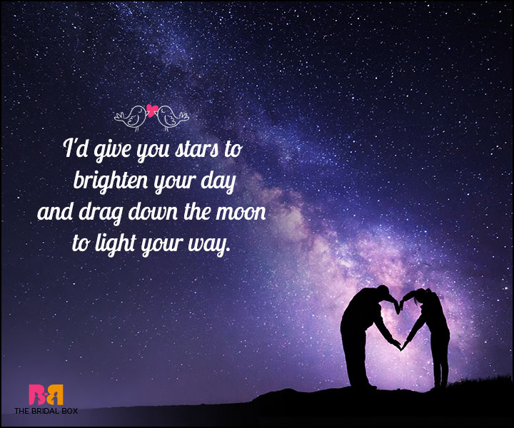 Romantic Love SMS - The Stars And The Moon