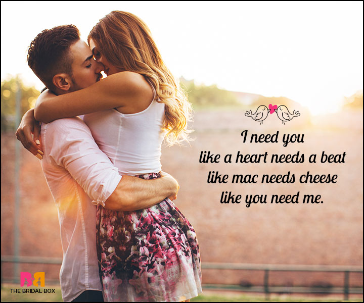 Romantic Love SMS - Like A Heart Needs A Beat