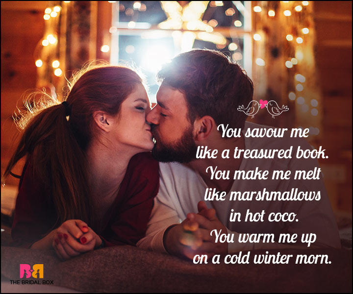 Romantic Love SMS - Marshmallow In Hot Coco
