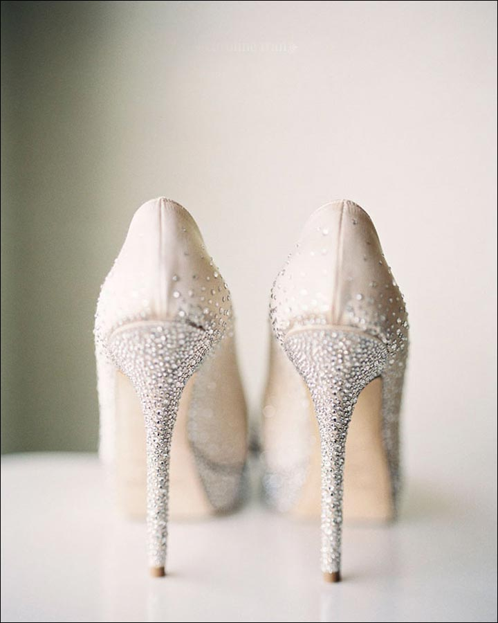 Jimmy Choo Wedding Shoes - Snow Dust