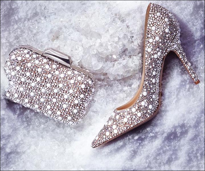Jimmy Choo Wedding Shoes - Stars And Clouds