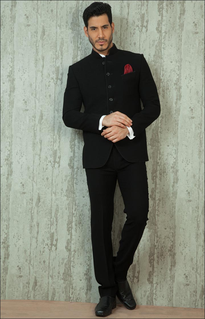 Jodhpuri Suits For Wedding - The All Black Jodhpuri