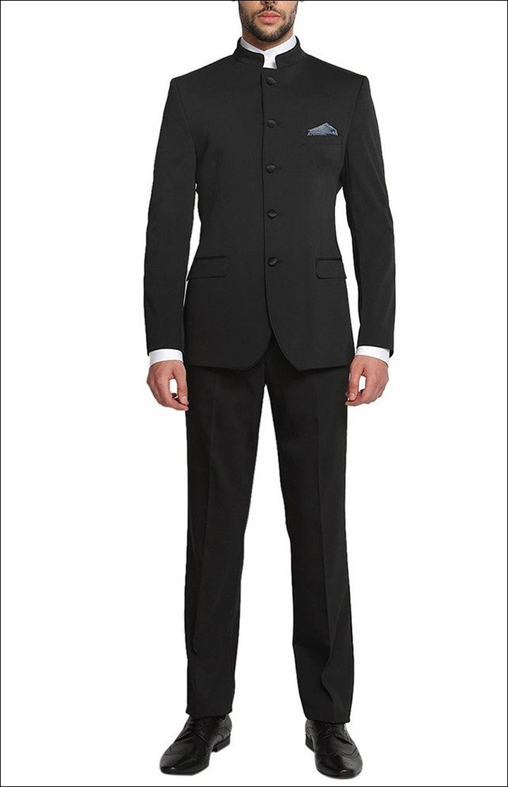 Jodhpuri Suits For Wedding - The Black Bandhgala
