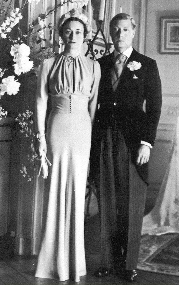 Royal Wedding Dresses - The Duke And Duchess Of Windsor
