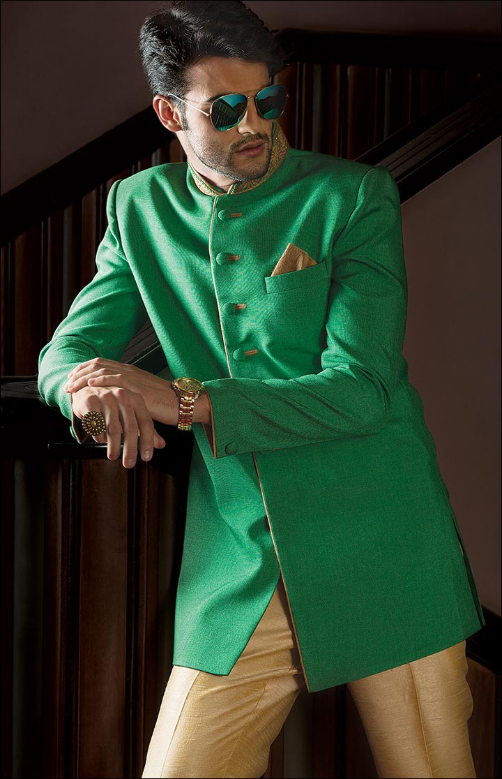 Jodhpuri Suits For Wedding - The Green Jodhpuri
