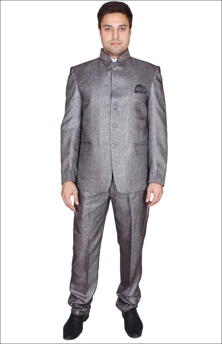 Jodhpuri Suits For Wedding - The Grey Jodhpuri