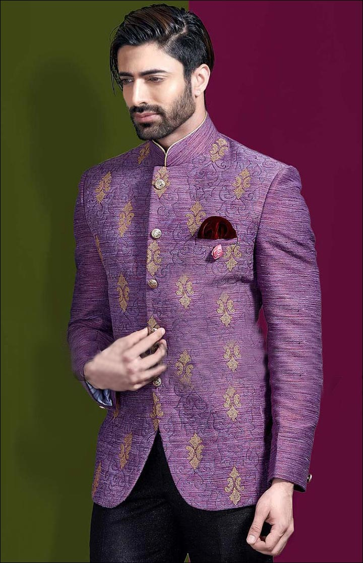 Jodhpuri Suits For Wedding - The Lavender Jodhpuri