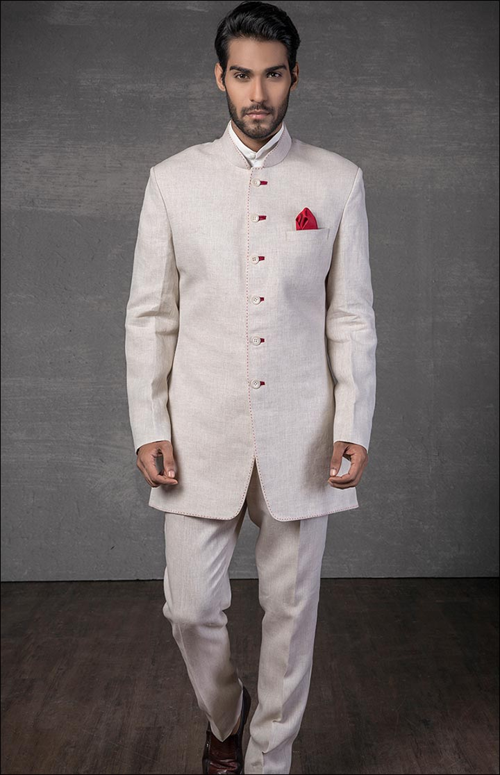 Jodhpuri Suits For Wedding - The Linen Jodhpuri
