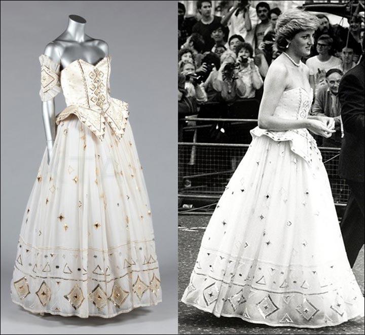 Princess Diana's Wedding Dress - The Original Fashionista!