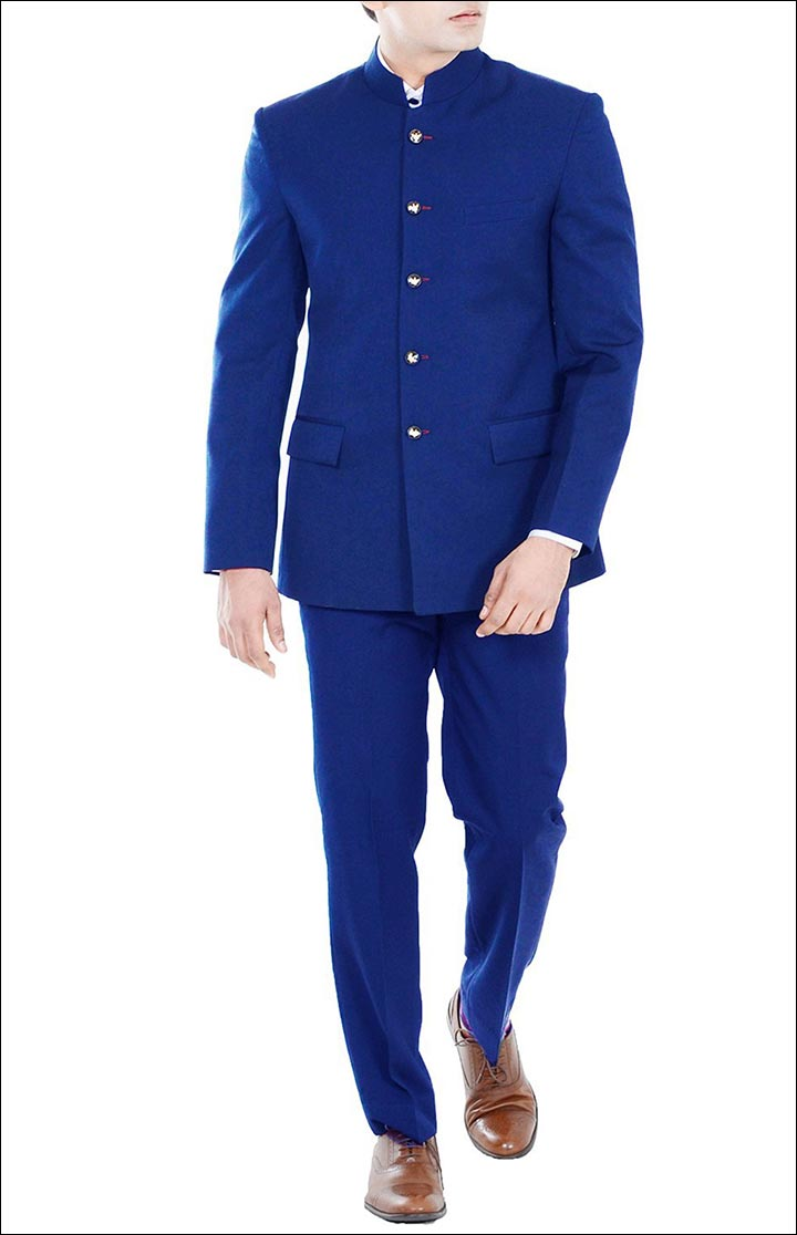 Jodhpuri Suits For Wedding - The Premium Royal Blue