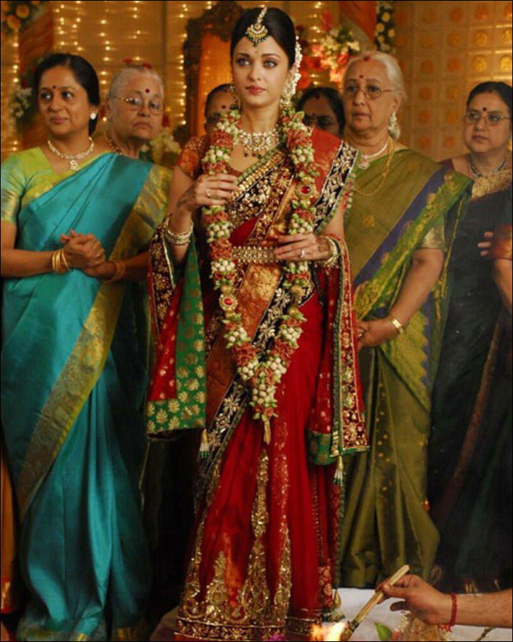 Indian Bridal Looks - The South Indian Bride, Aishwarya Rai Bachchan