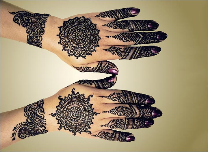 Mehndi Patterns What Are They : 11 rangoli mehndi designs that'll make you fall in love