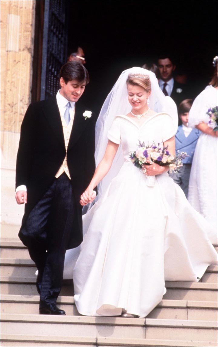 Royal Wedding Dresses - Tim Taylor And Lady Helen