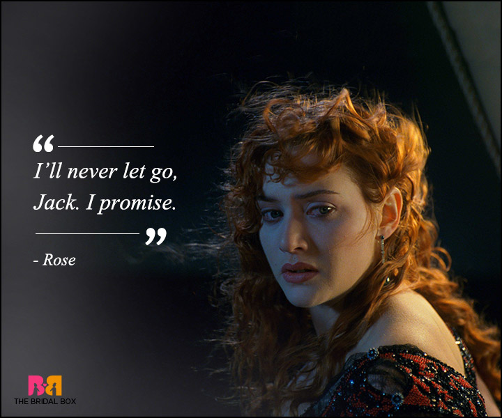 Titanic Love Quotes - Never Let You Go