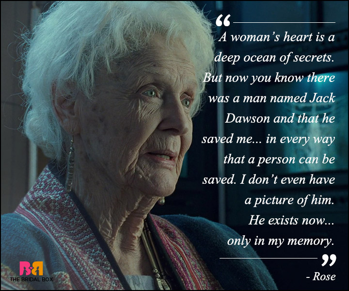 Titanic Love Quotes - A Woman's Heart