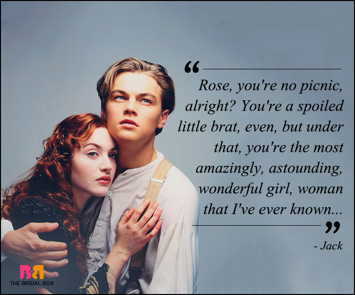 Titanic Love Quotes - No Picnic