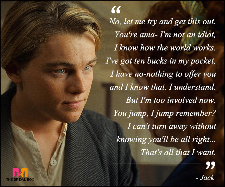 Titanic Quotes Classy Titanic Love Quotes  11 Best Ones From The Classic