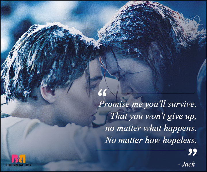 Titanic Love Quotes - No Matter How Hopeless