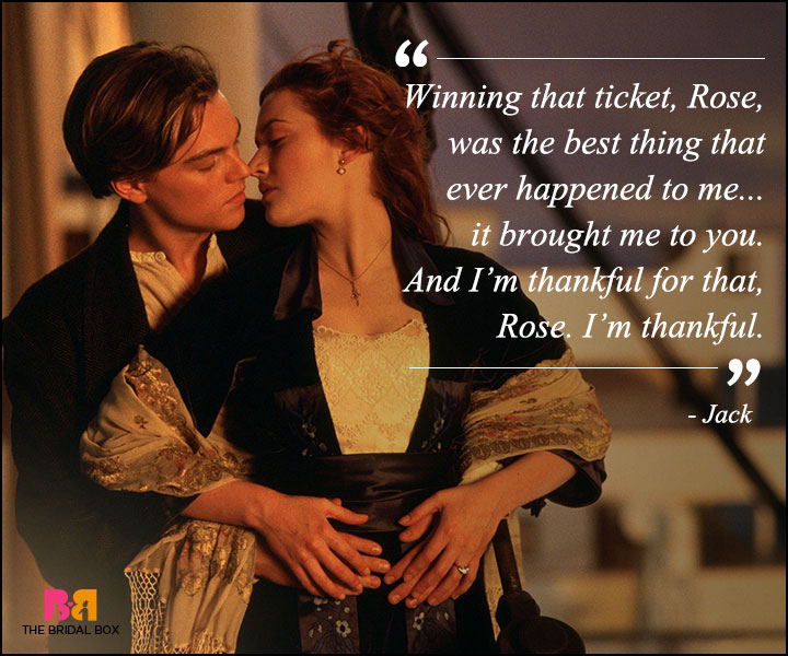 Titanic Love Quotes - Winning The Ticket