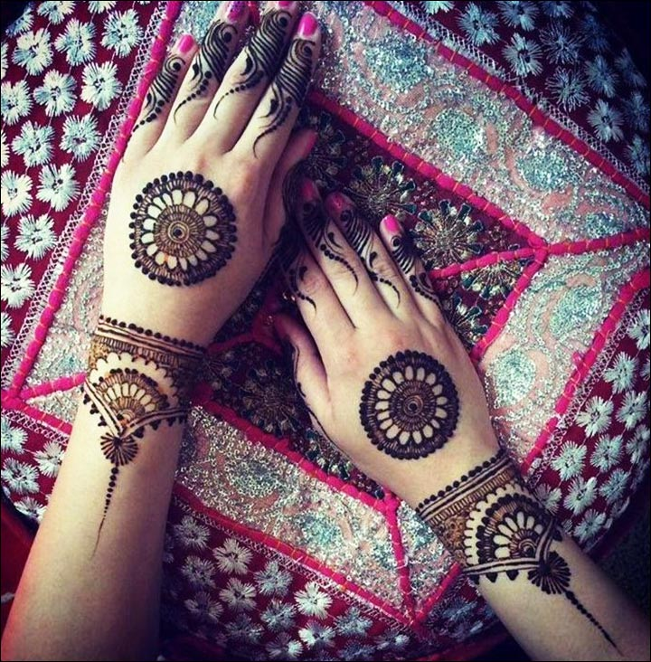 Fall Henna Designs: 11 Rangoli Mehndi Designs That'll Make You Fall In Love