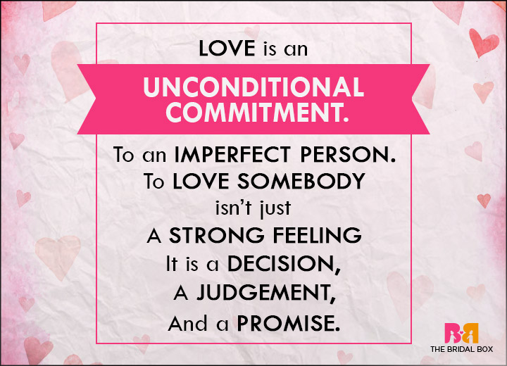 Unconditional Love - Getting The Definition Right