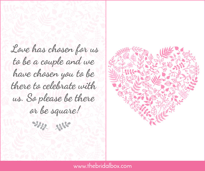 Wedding Invitation Wording - 35