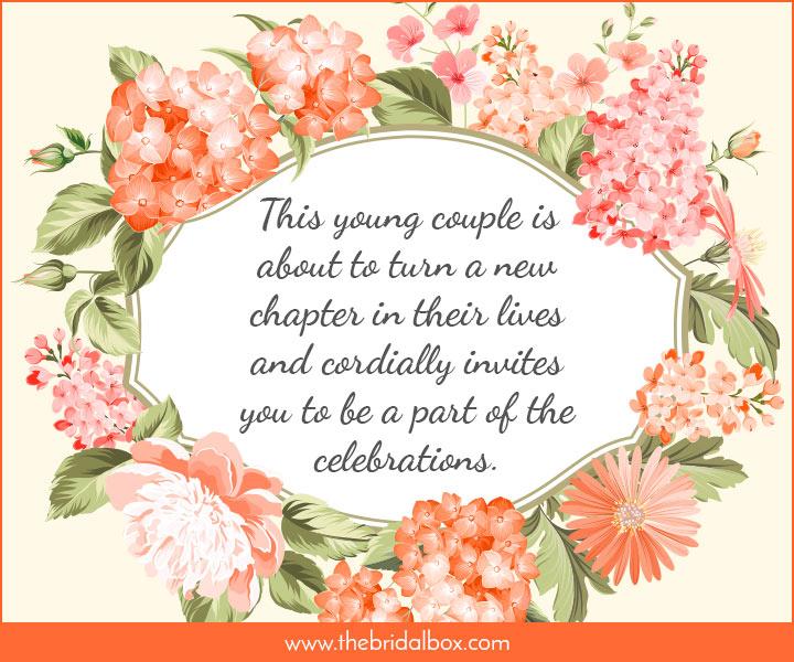 Wedding Invitation Wording - 39