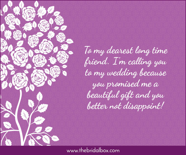 Wedding Invitation Wording - 43