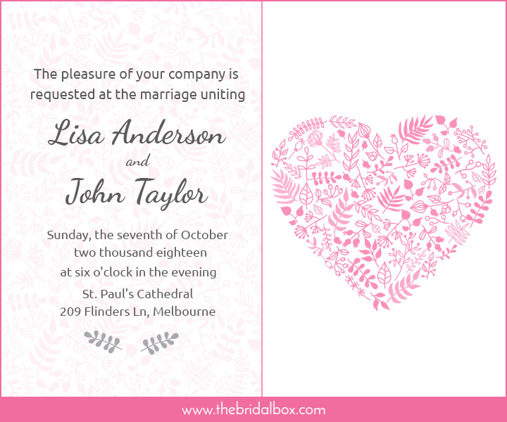 Wedding Invitation Wording - 5