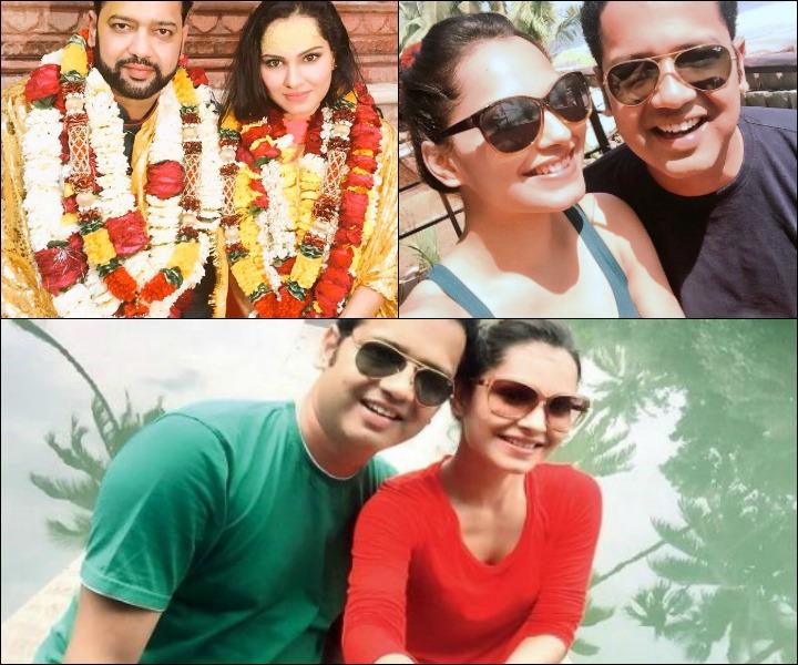 Rahul Mahajan Marriage - Amruta Mane and Rahul Mahajan