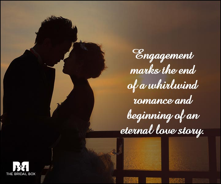 Engagement Quotes - An Eternal Love Story