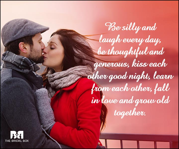 Engagement Quotes - Grow Old Together